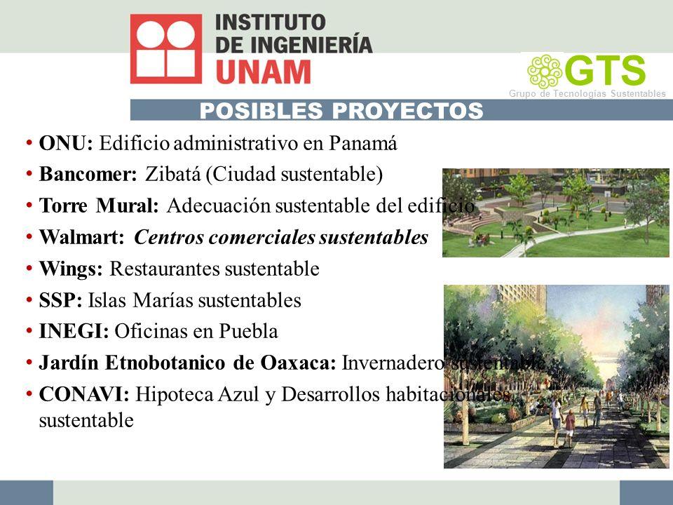 GTS POSIBLES PROYECTOS ONU: Edificio administrativo en Panamá