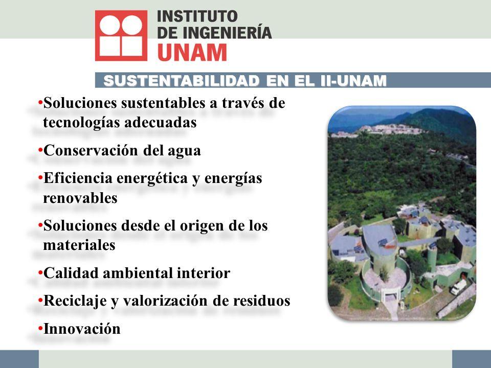 Soluciones sustentables a través de tecnologías adecuadas