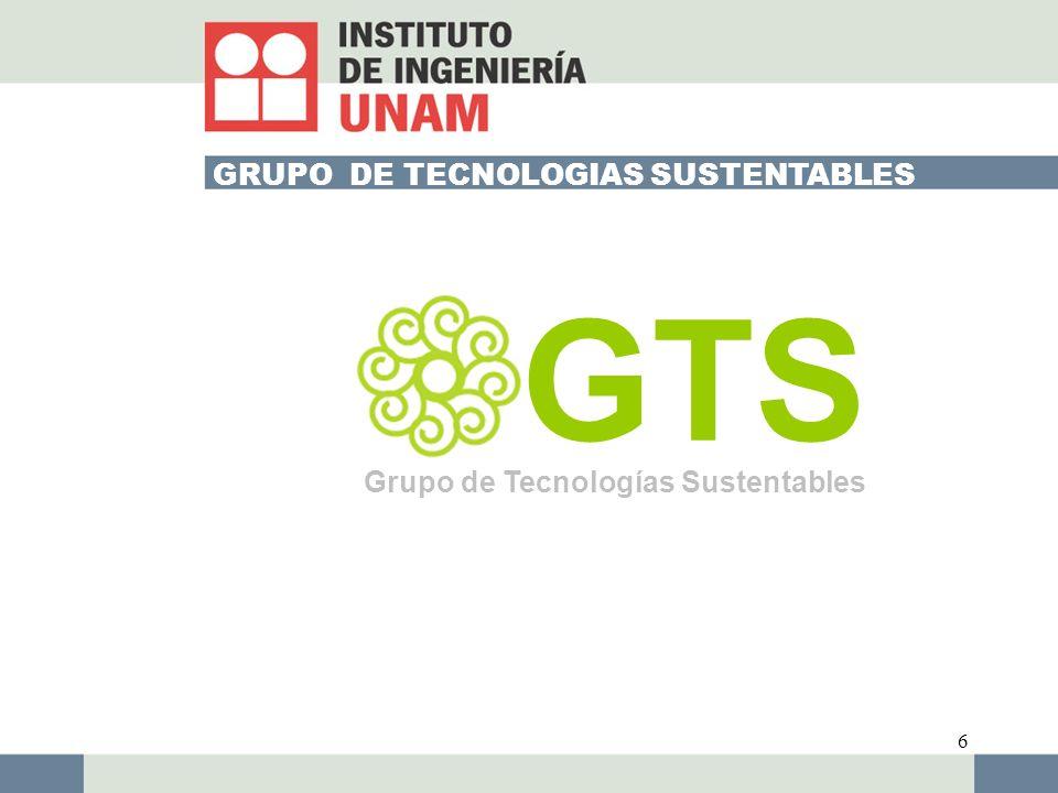 GRUPO DE TECNOLOGIAS SUSTENTABLES