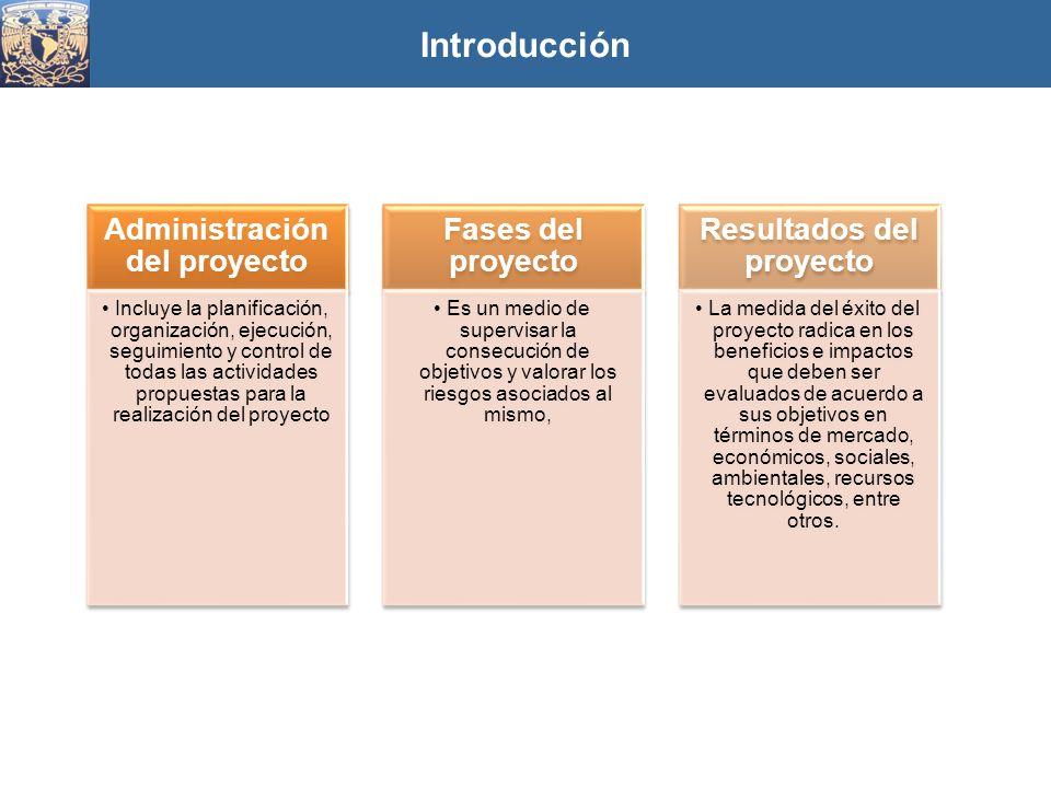 Administración del proyecto Resultados del proyecto