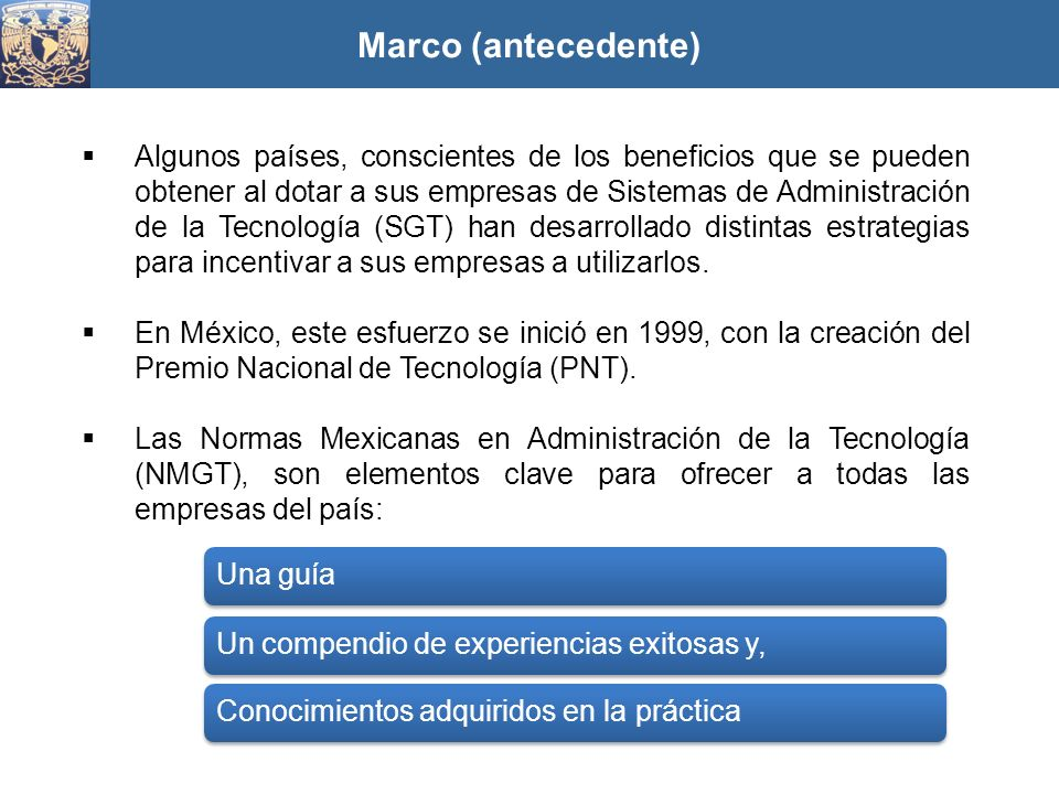 Marco (antecedente)