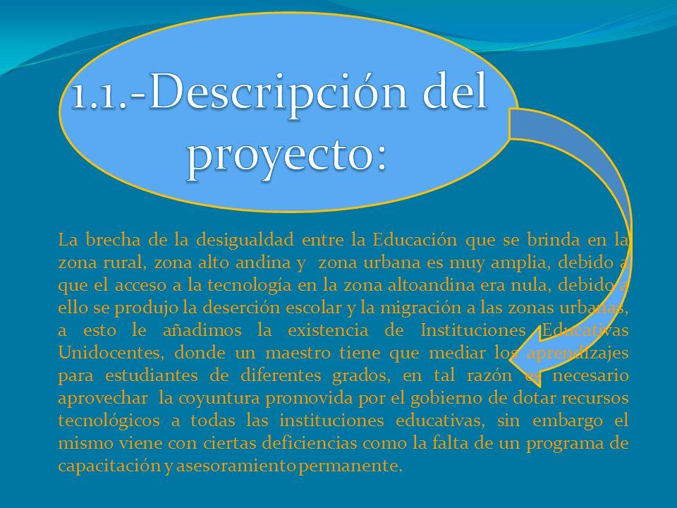 1.1.-Descripción del proyecto: