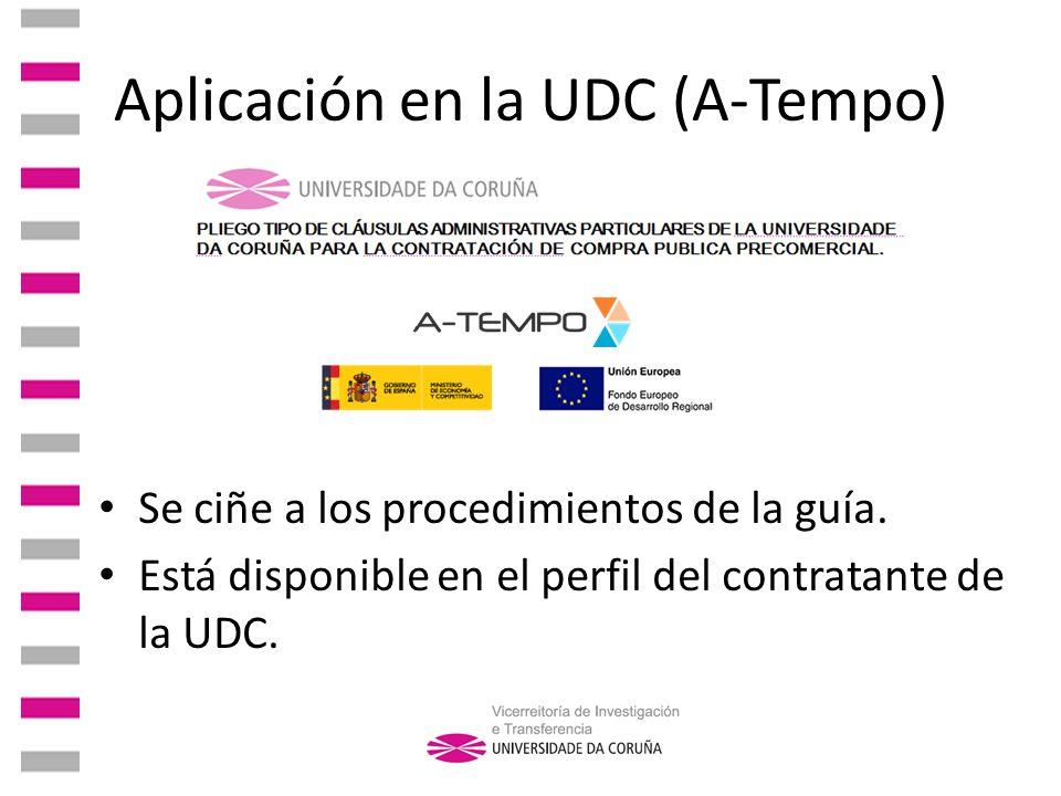Aplicación en la UDC (A-Tempo)