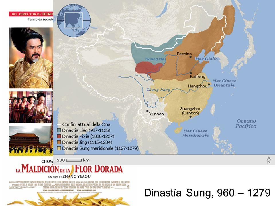 Dinastía Sung, 960 – 1279