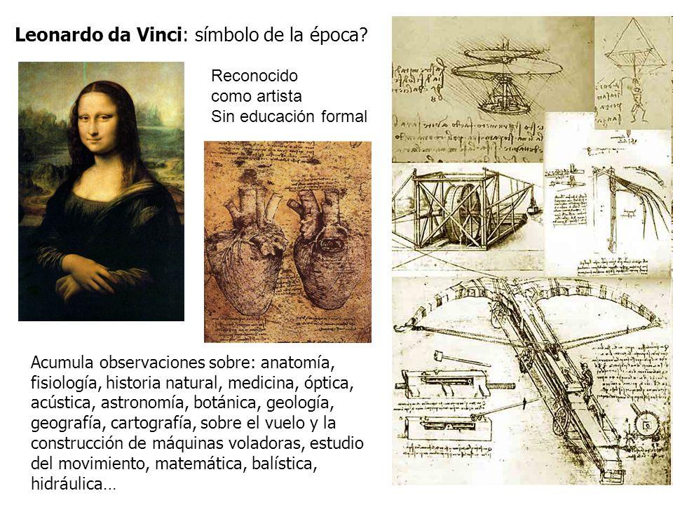 Leonardo da Vinci: símbolo de la época