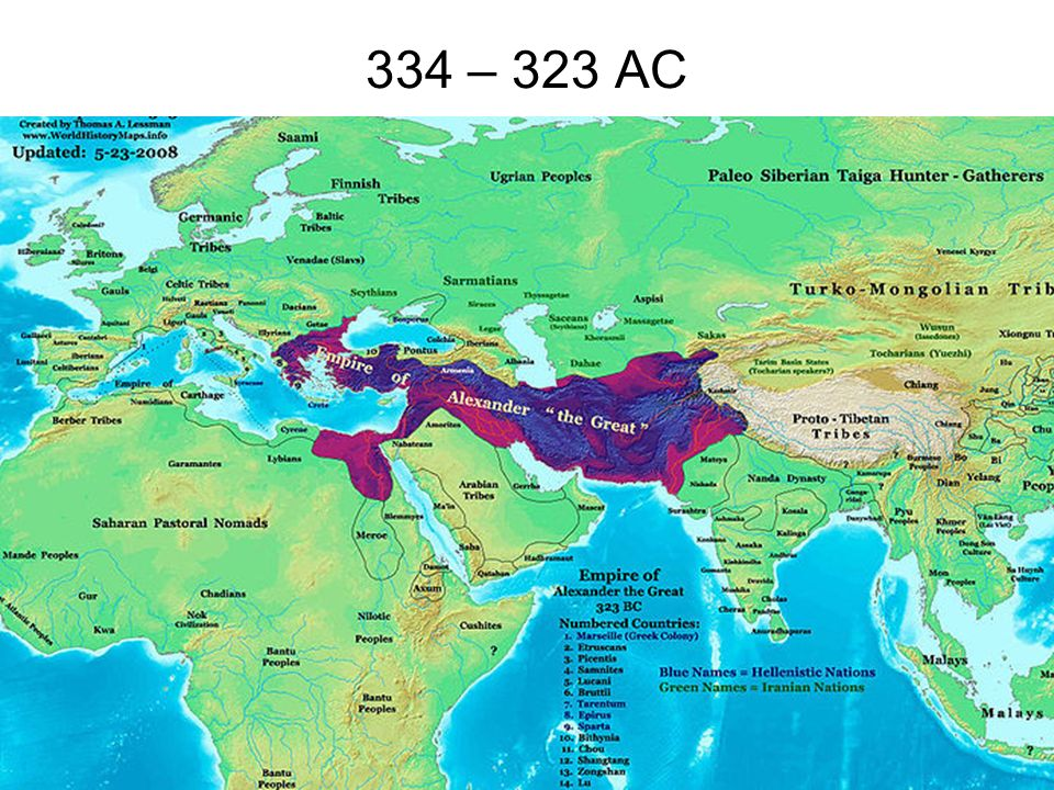 334 – 323 AC