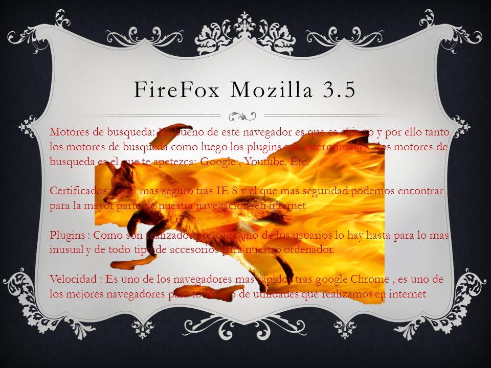 FireFox Mozilla 3.5