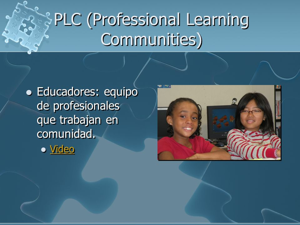 PLC (Professional Learning Communities)