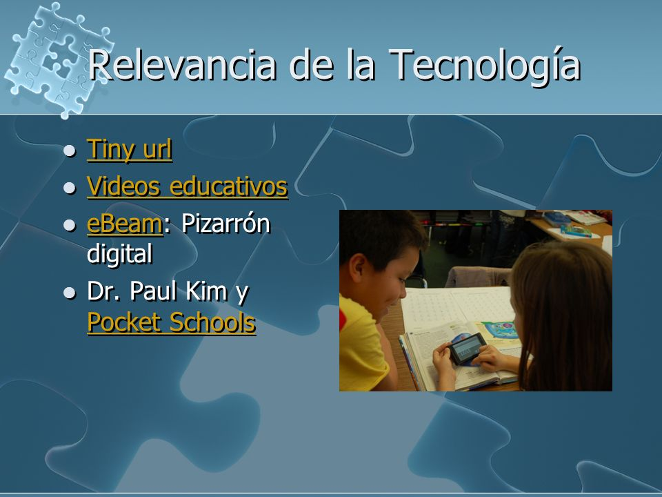 Relevancia de la Tecnología