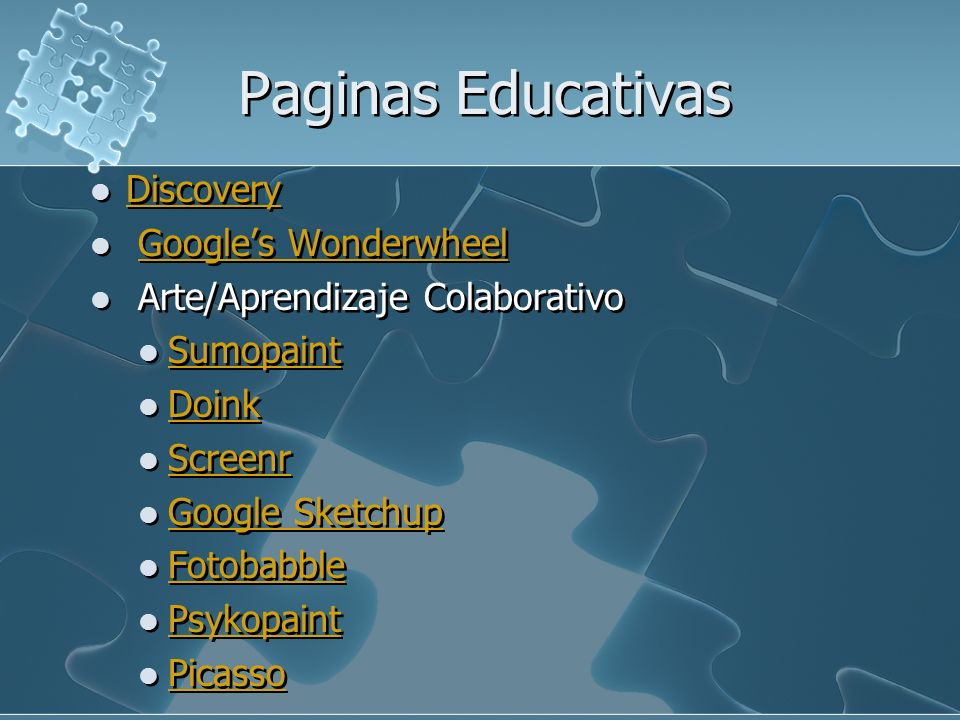 Paginas Educativas Discovery Google's Wonderwheel