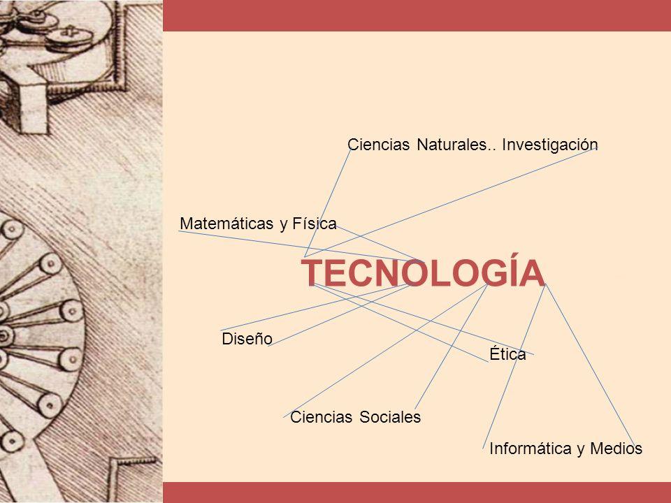 TECNOLOGÍA Ciencias Naturales.. Investigación Matemáticas y Física