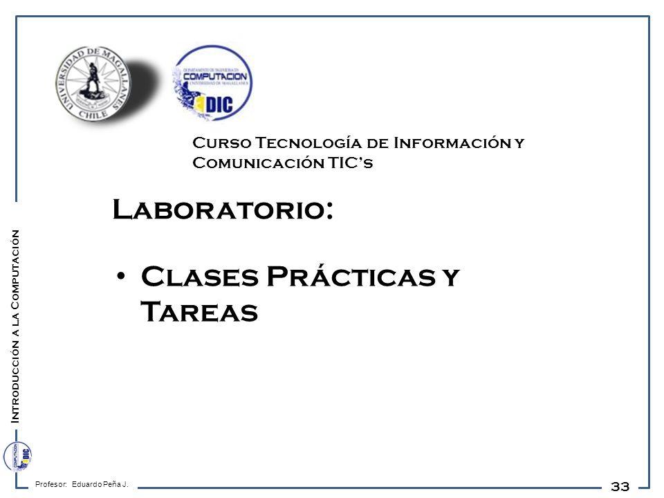 Clases Prácticas y Tareas