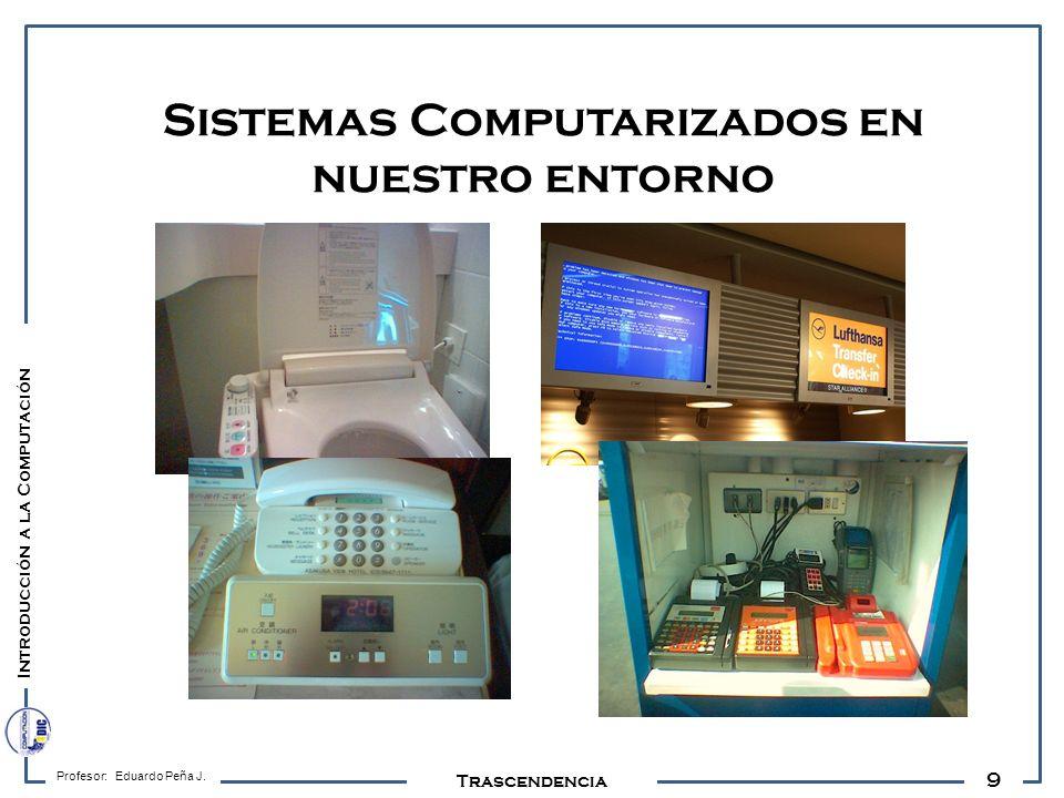 Sistemas Computarizados en nuestro entorno