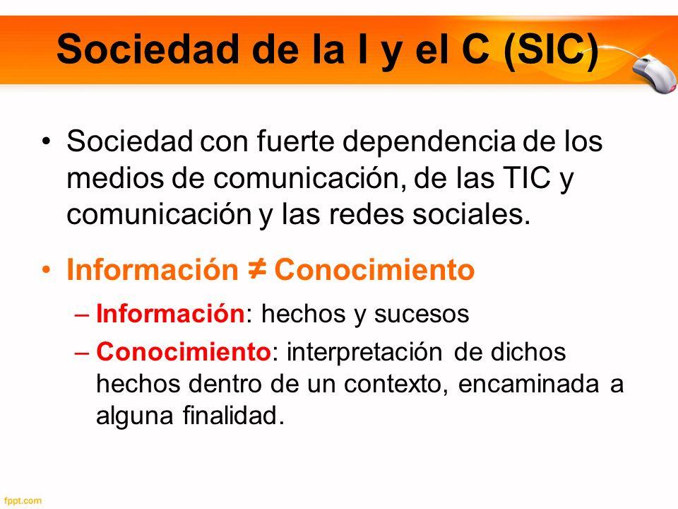 Sociedad de la I y el C (SIC)