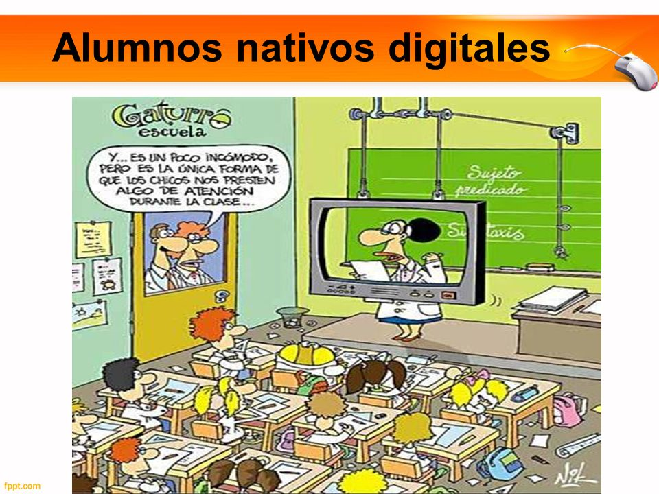 Alumnos nativos digitales