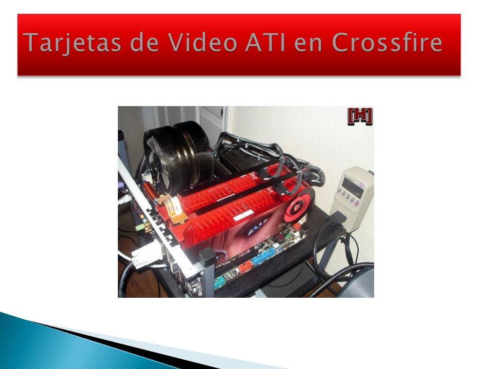 Tarjetas de Video ATI en Crossfire