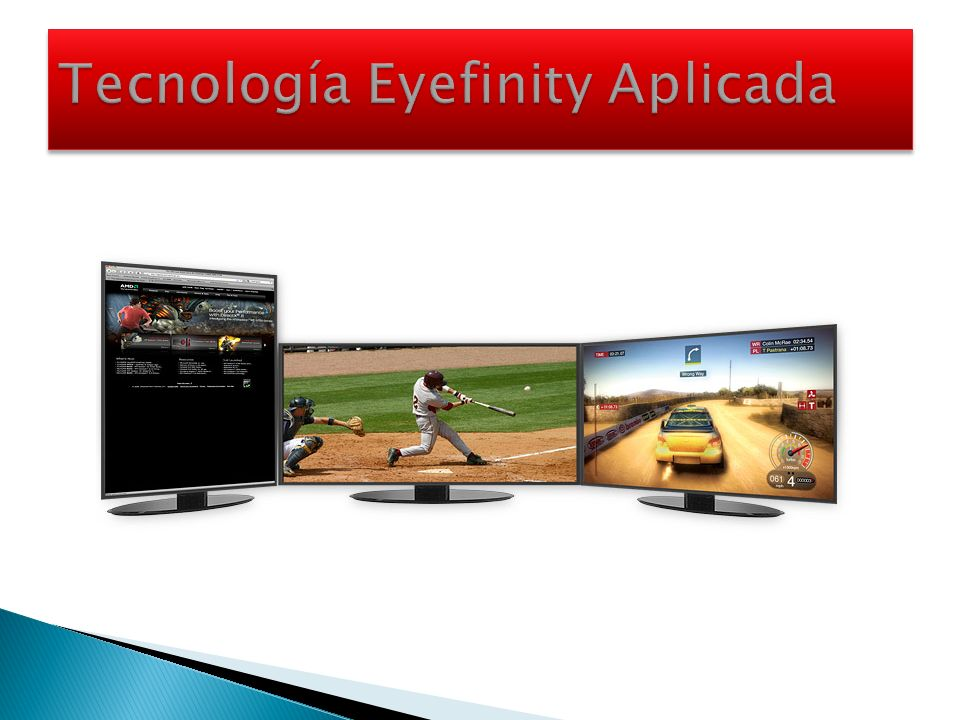 Tecnología Eyefinity Aplicada