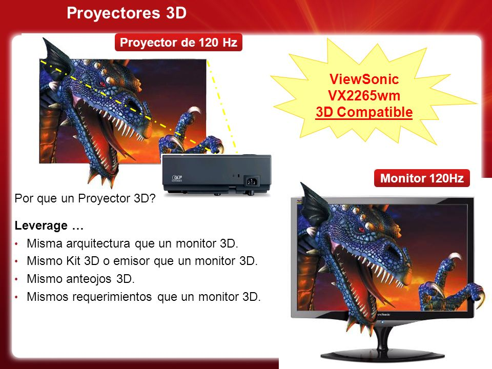 ViewSonic VX2265wm 3D Compatible