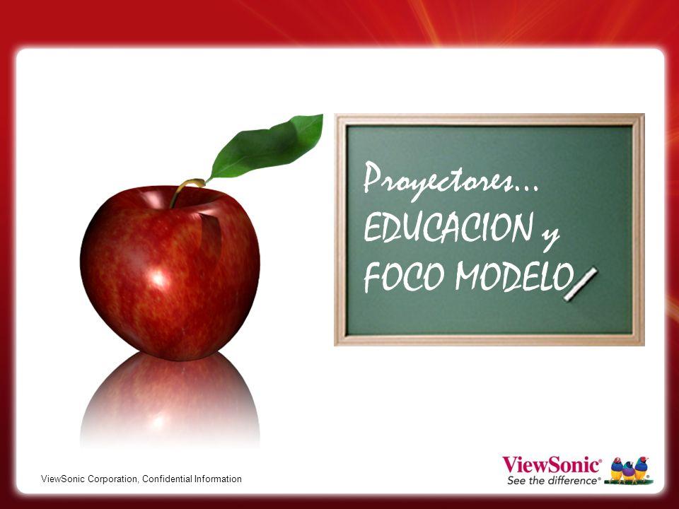 Proyectores… EDUCACION y FOCO MODELO