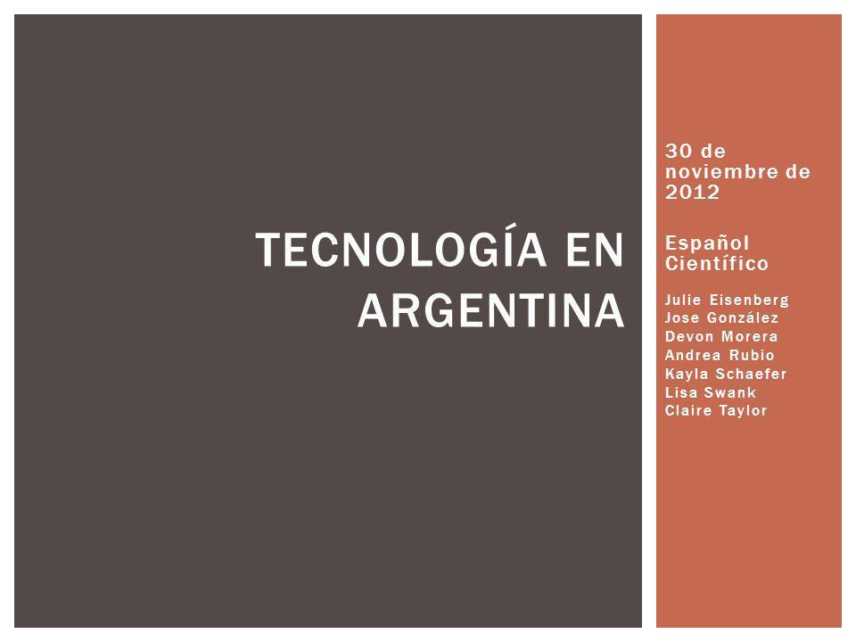 Tecnología en Argentina