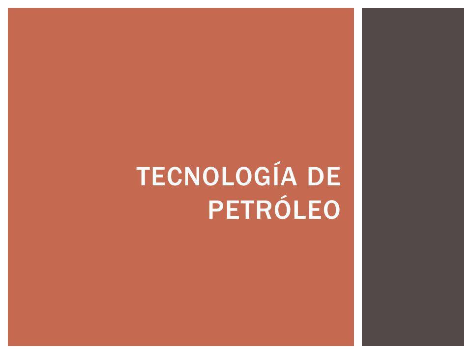 tecnología de petróleo