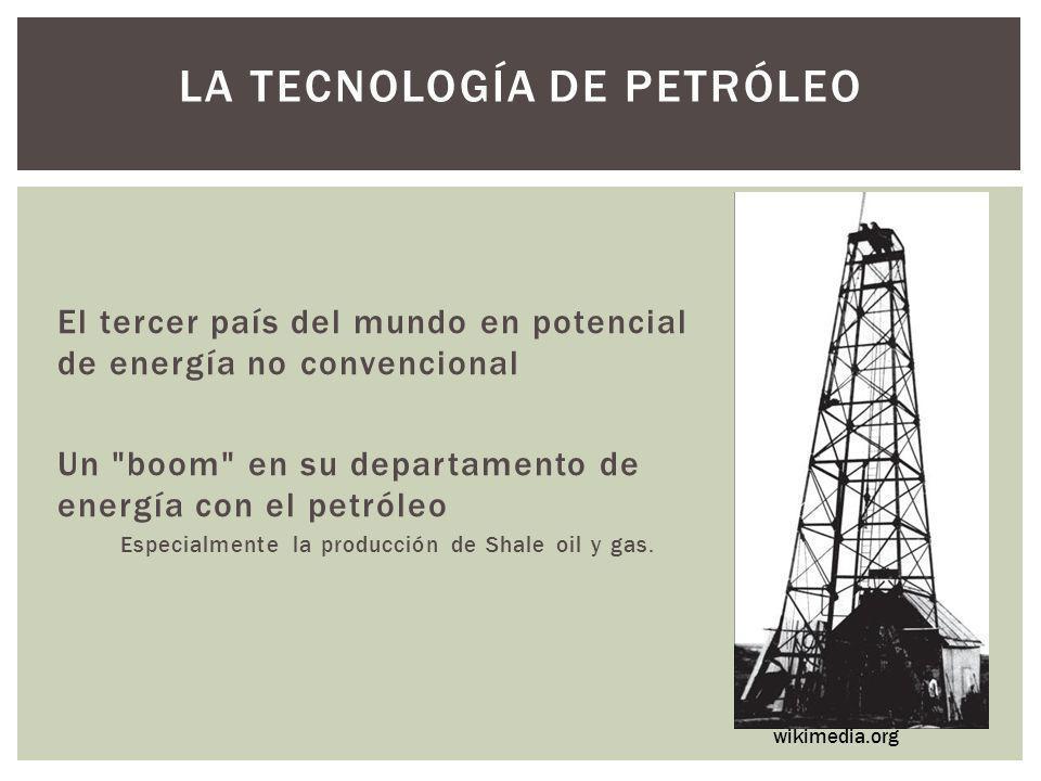 La tecnología de petróleo