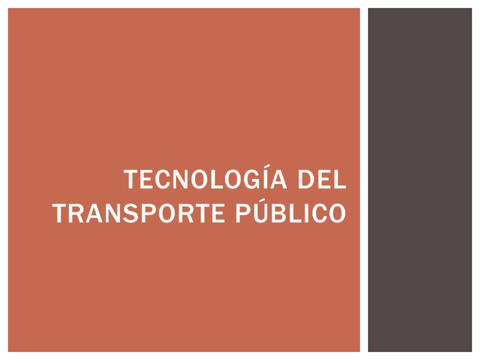 tecnología del transporte público