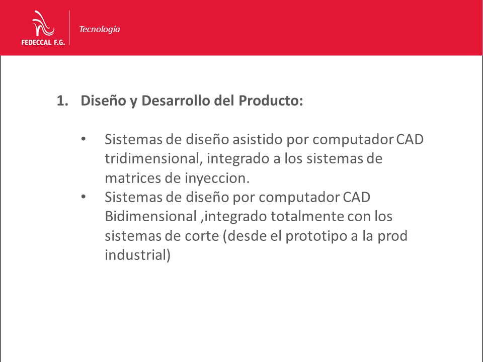 Diseño y Desarrollo del Producto: