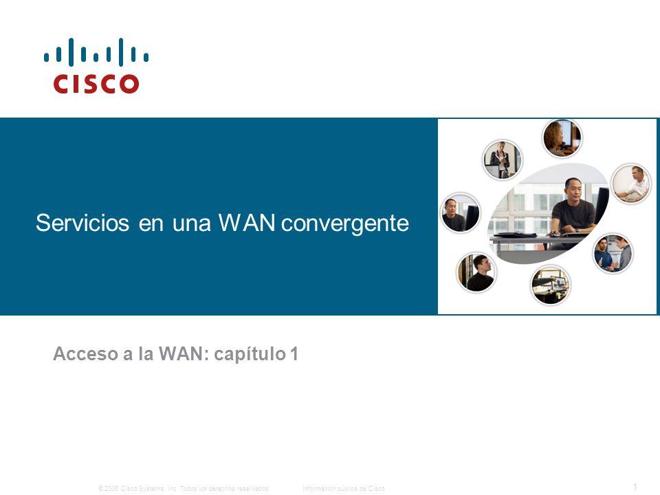 Servicios en una WAN convergente