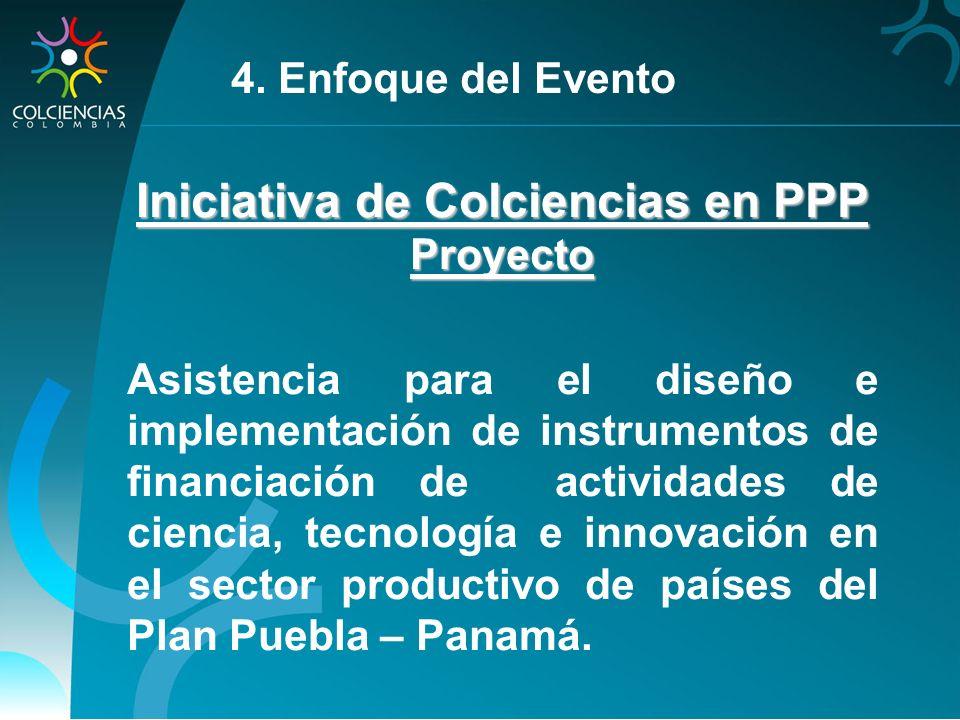 Iniciativa de Colciencias en PPP
