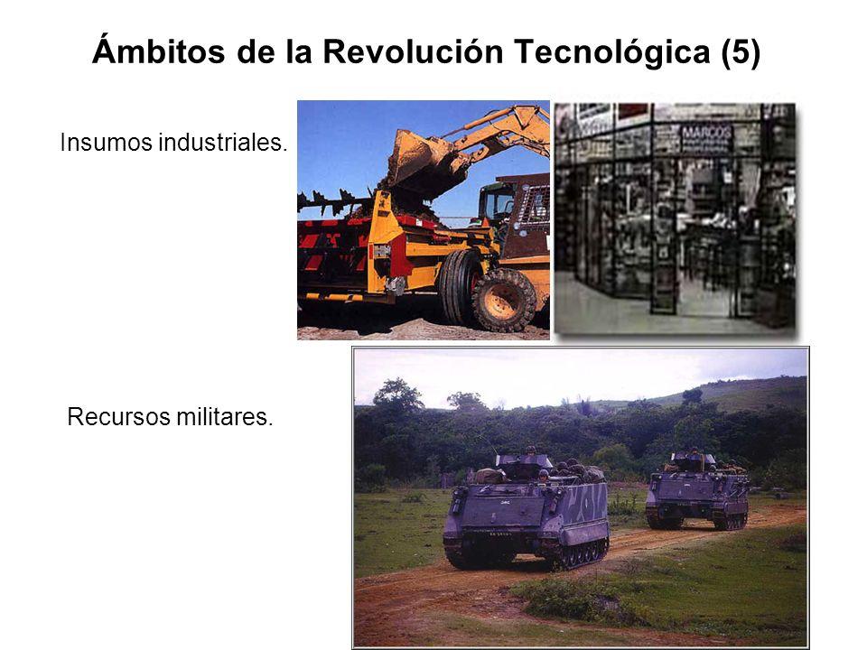 Ámbitos de la Revolución Tecnológica (5)