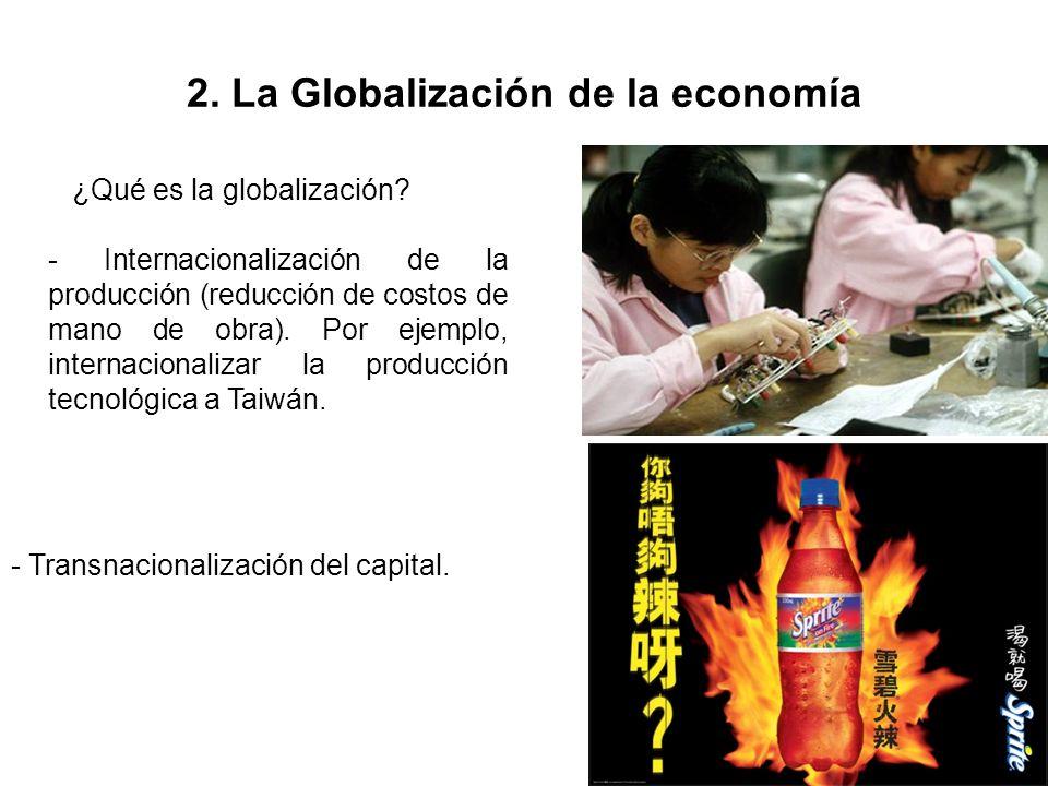 2. La Globalización de la economía