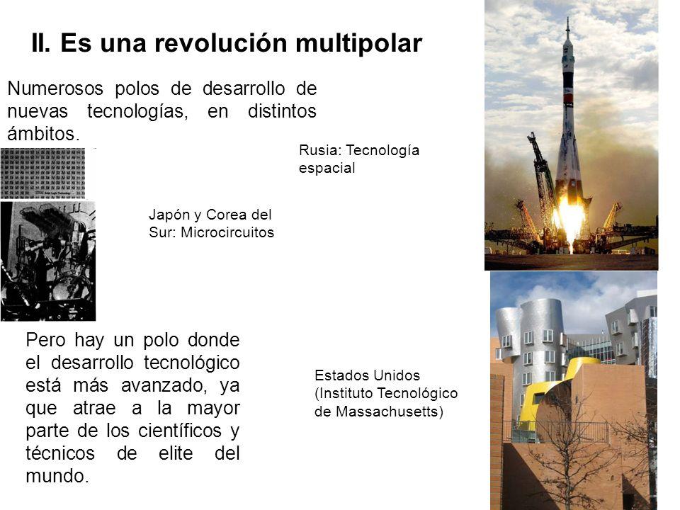 II. Es una revolución multipolar