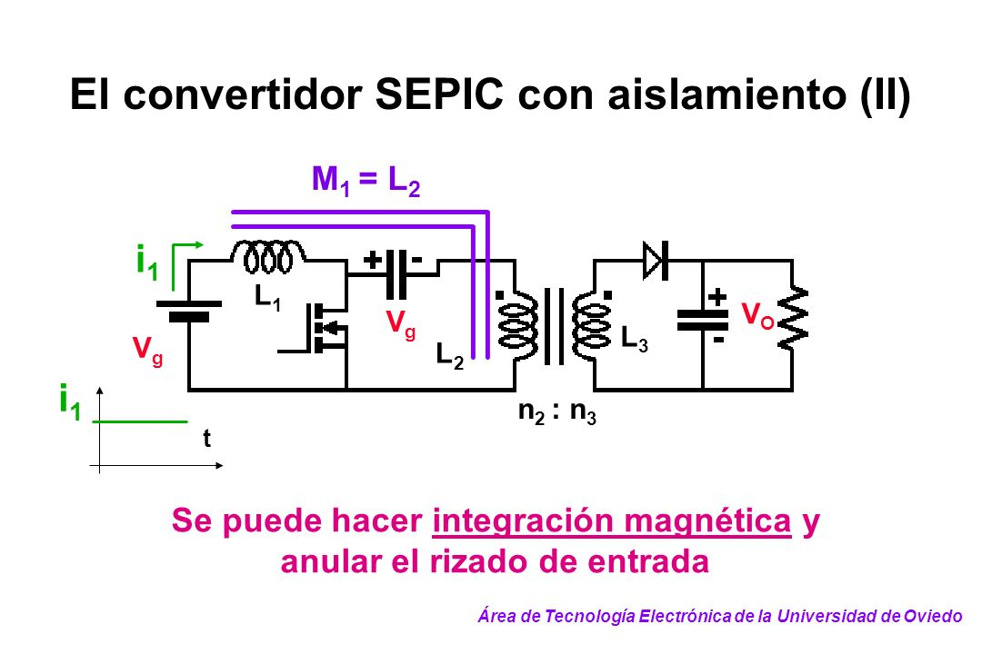 El convertidor SEPIC con aislamiento (II)