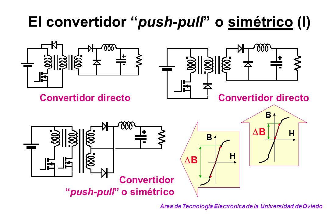 El convertidor push-pull o simétrico (I)