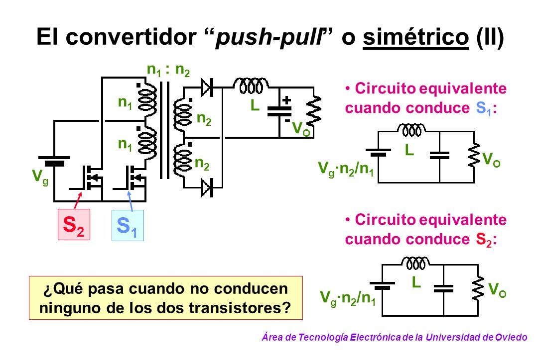 ¿Qué pasa cuando no conducen ninguno de los dos transistores