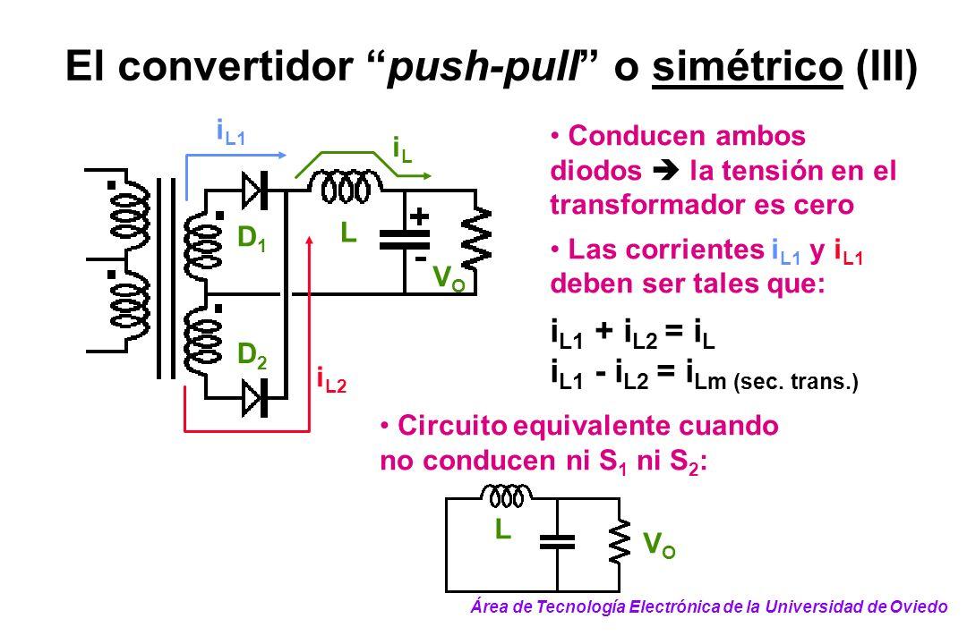 El convertidor push-pull o simétrico (III)
