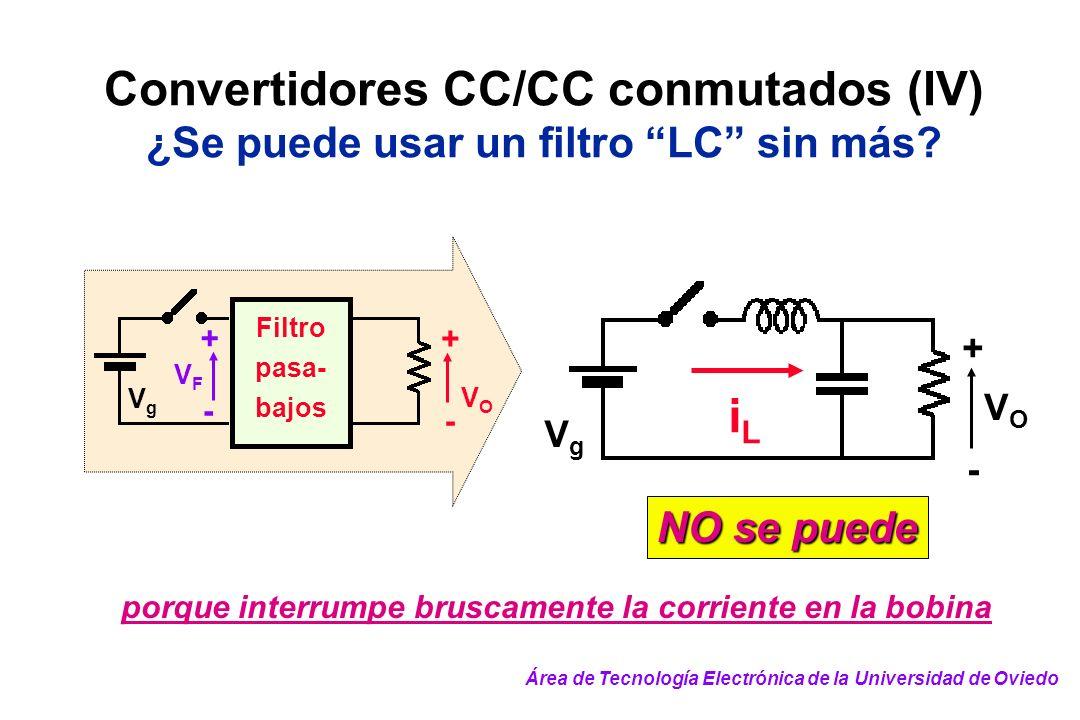 Convertidores CC/CC conmutados (IV)
