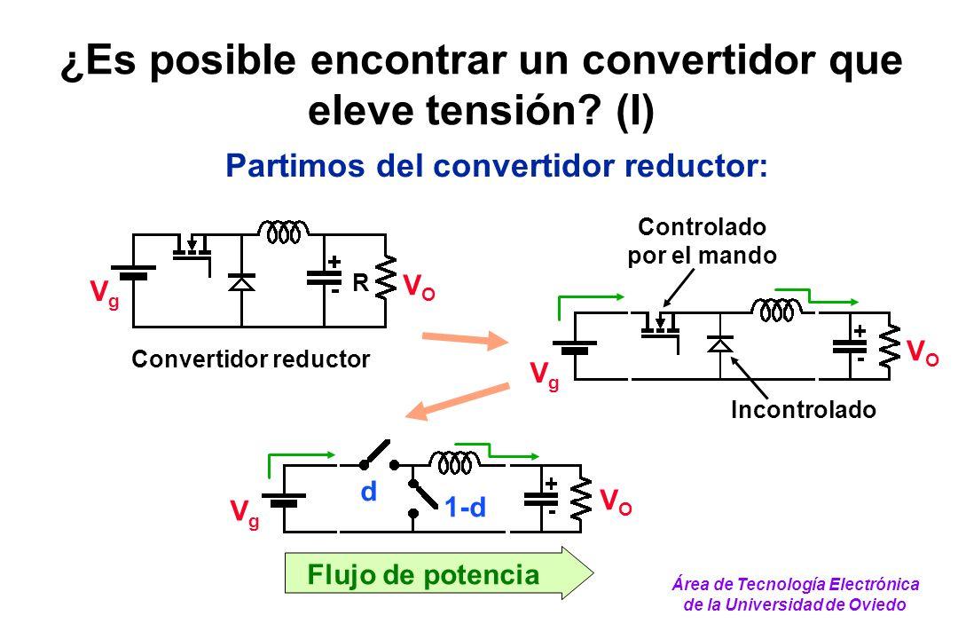 ¿Es posible encontrar un convertidor que eleve tensión (I)