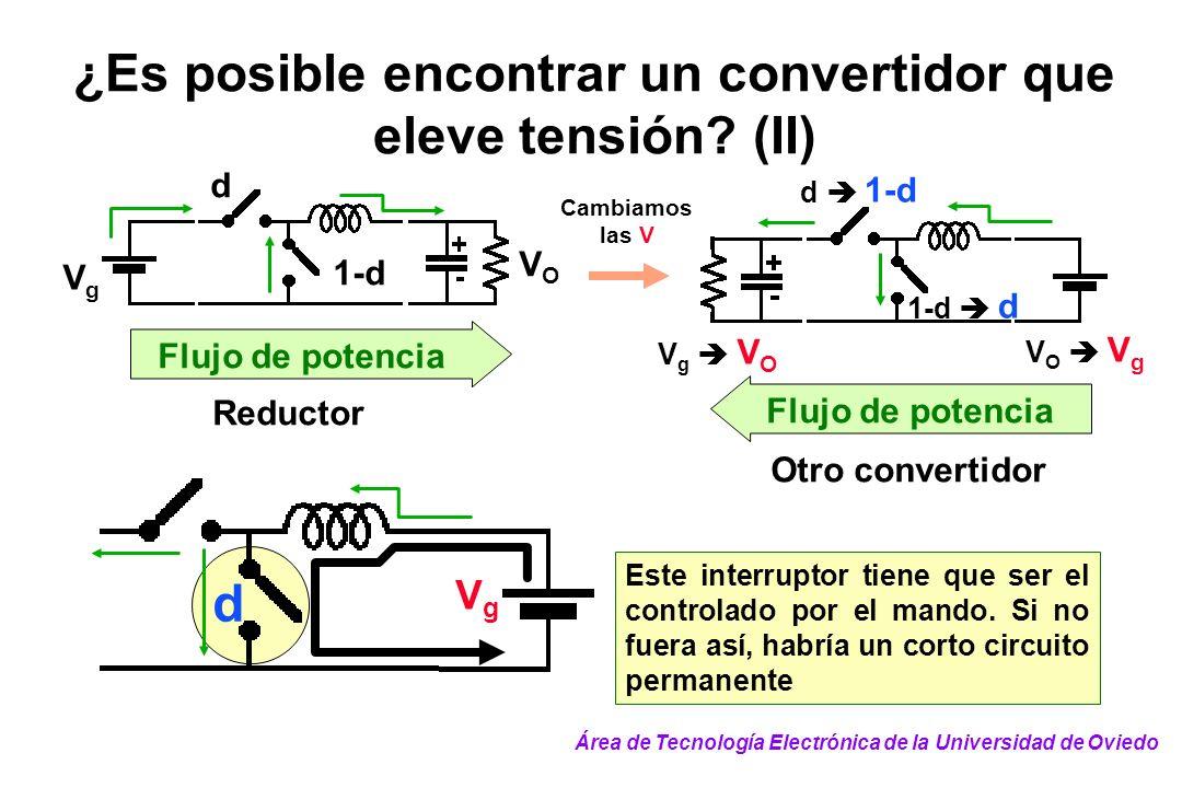 ¿Es posible encontrar un convertidor que eleve tensión (II)