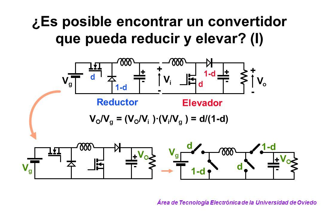 ¿Es posible encontrar un convertidor que pueda reducir y elevar (I)
