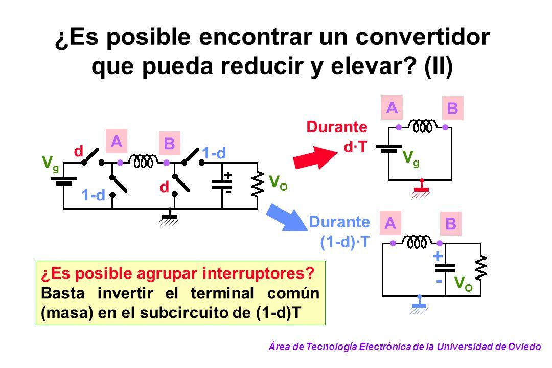 ¿Es posible encontrar un convertidor que pueda reducir y elevar (II)