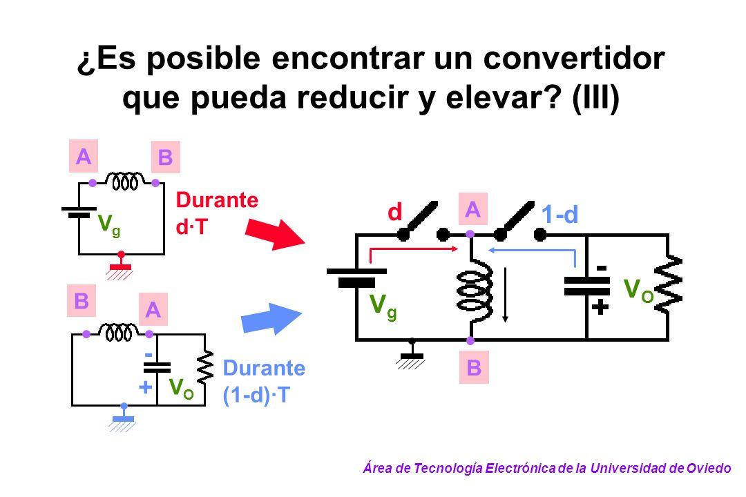 ¿Es posible encontrar un convertidor que pueda reducir y elevar (III)