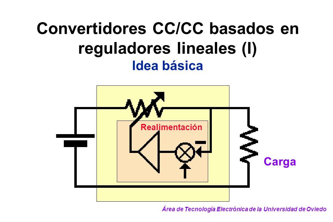 Convertidores CC/CC basados en reguladores lineales (I)