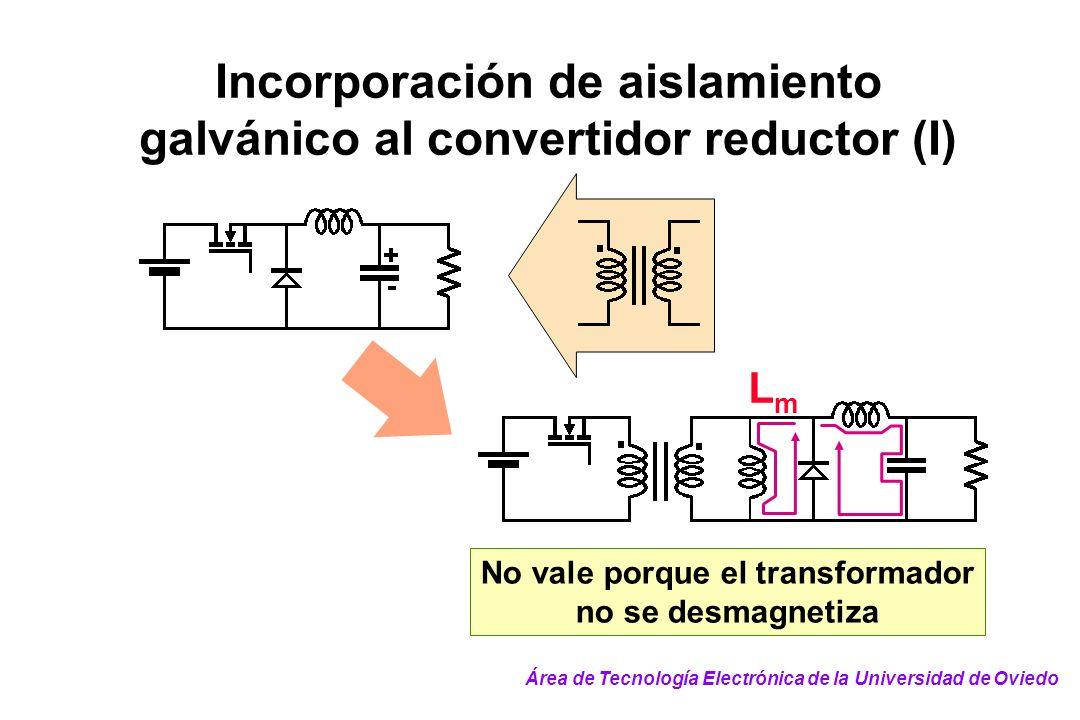 Incorporación de aislamiento galvánico al convertidor reductor (I)