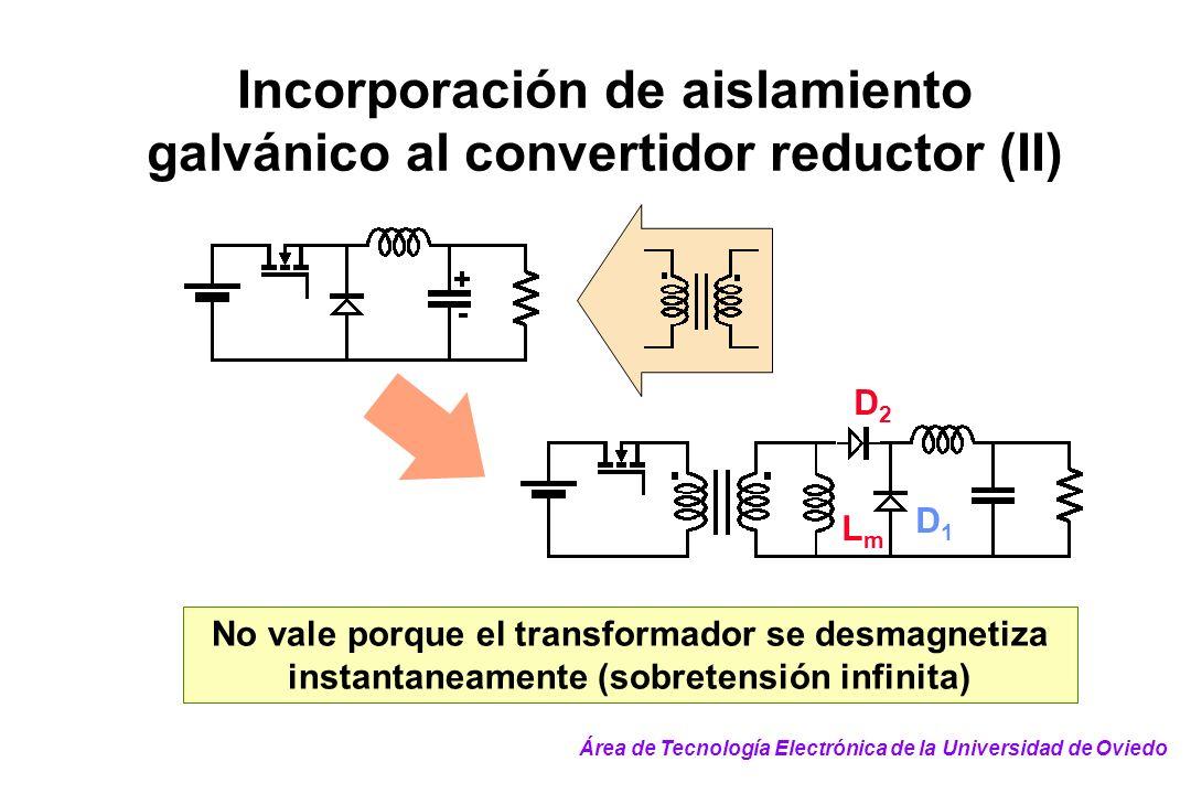 Incorporación de aislamiento galvánico al convertidor reductor (II)