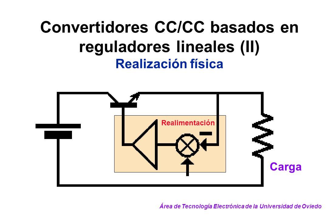 Convertidores CC/CC basados en reguladores lineales (II)