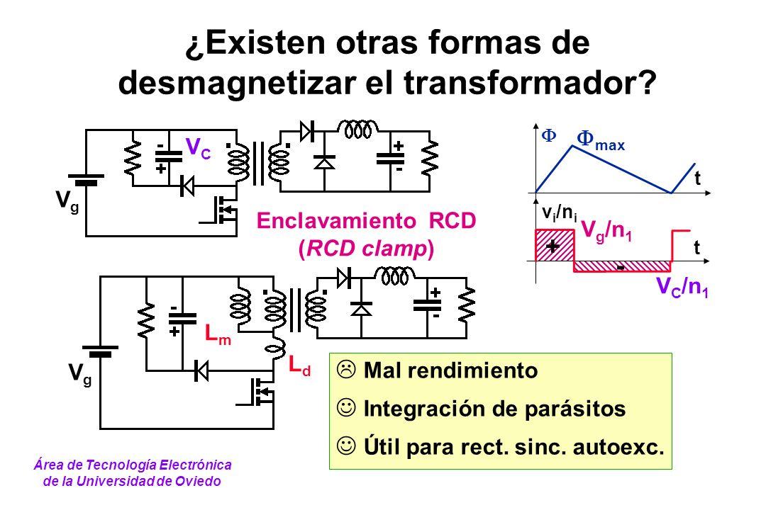 ¿Existen otras formas de desmagnetizar el transformador