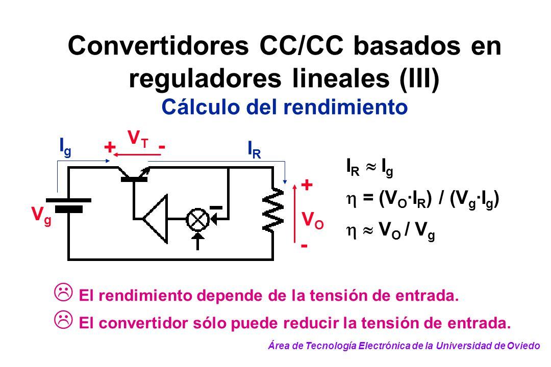 Convertidores CC/CC basados en reguladores lineales (III)