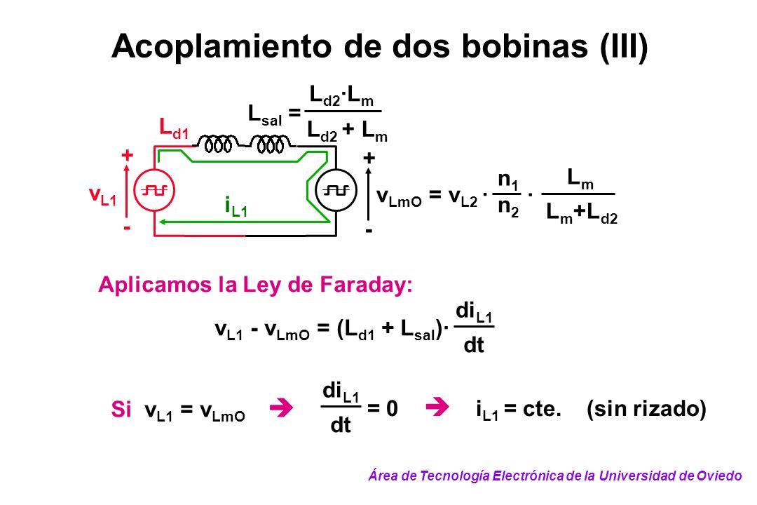 Acoplamiento de dos bobinas (III)